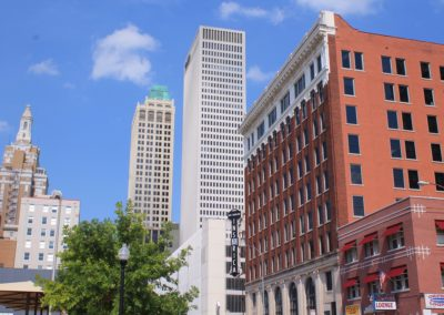 Beacon's great downtown Tulsa location